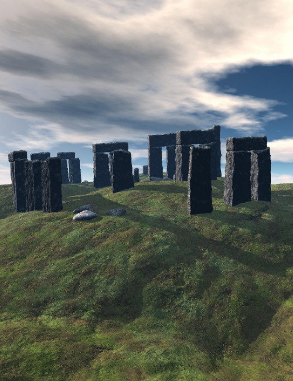 Stonehenge and Ruins_DAZ3D下载站
