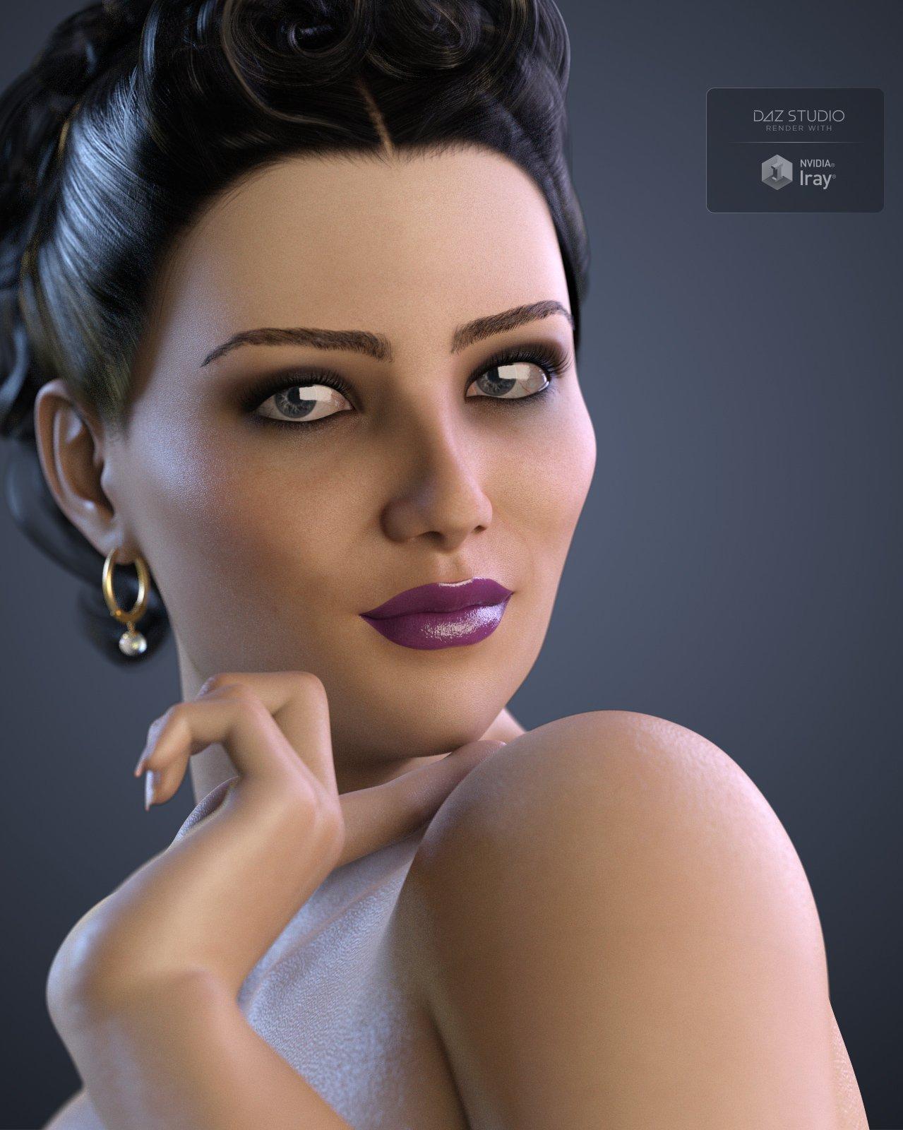 SublimelyVexed Khouri for G8F_DAZ3D下载站