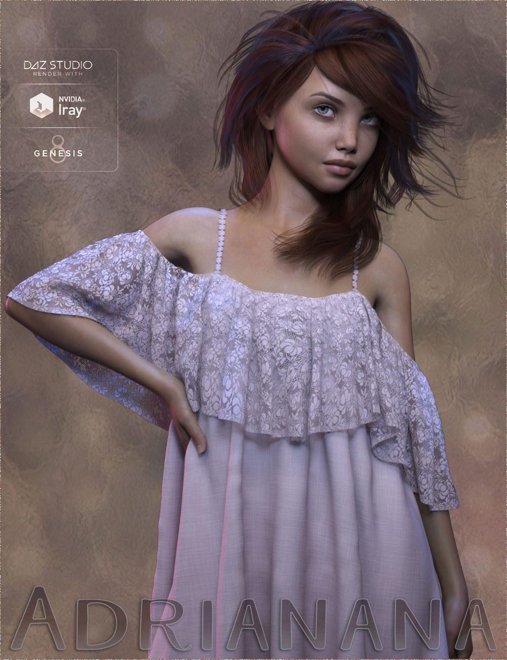 TDT-Adriana for Genesis 8 Female_DAZ3D下载站