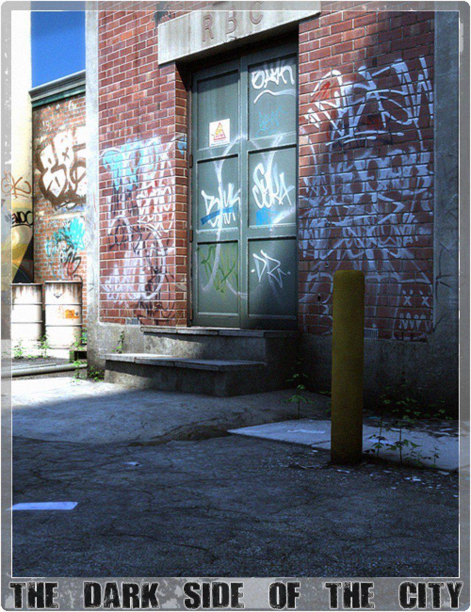 The Dark Side Of The City_DAZ3D下载站