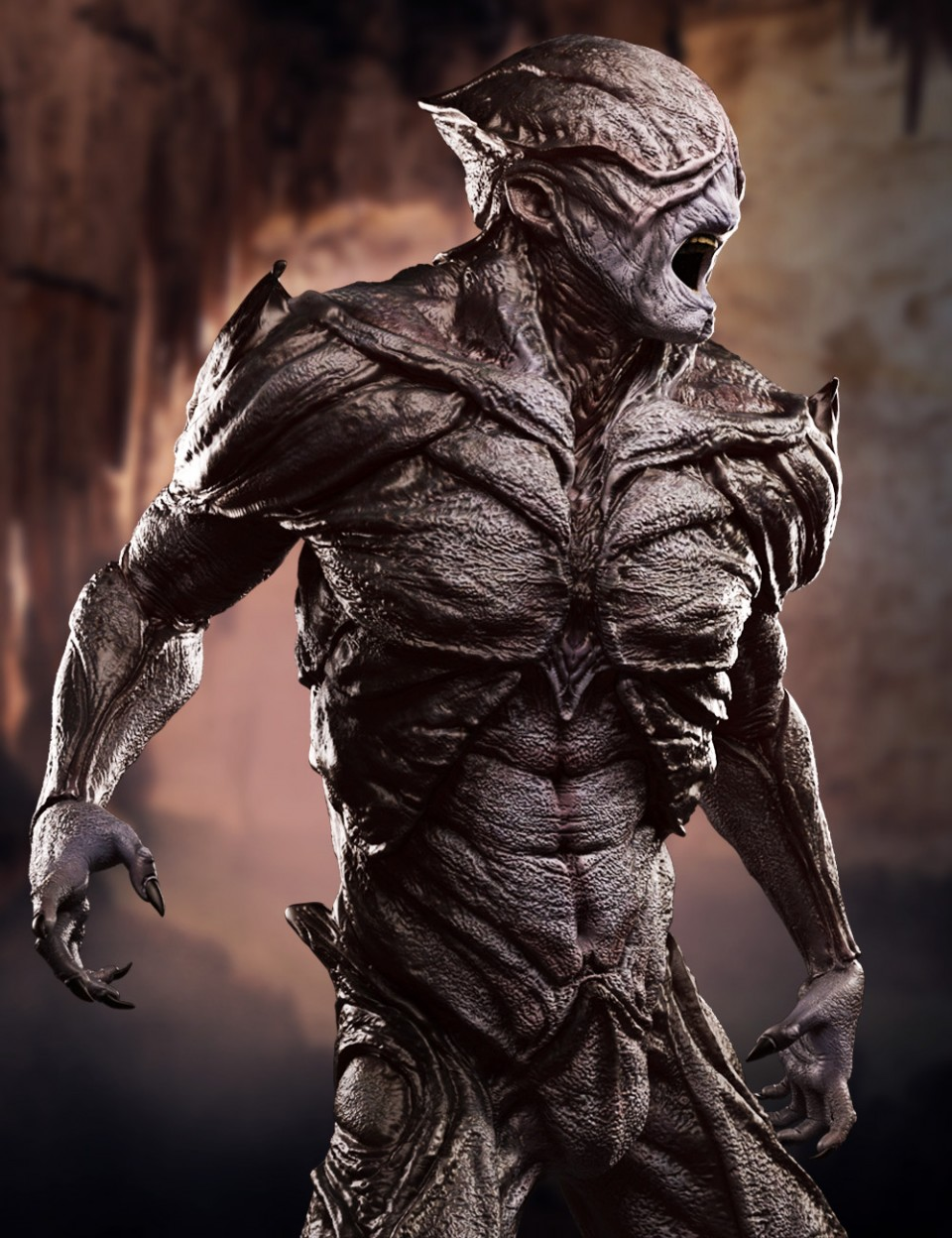 The Disruptor Alien HD for Genesis 3 Male_DAZ3D下载站