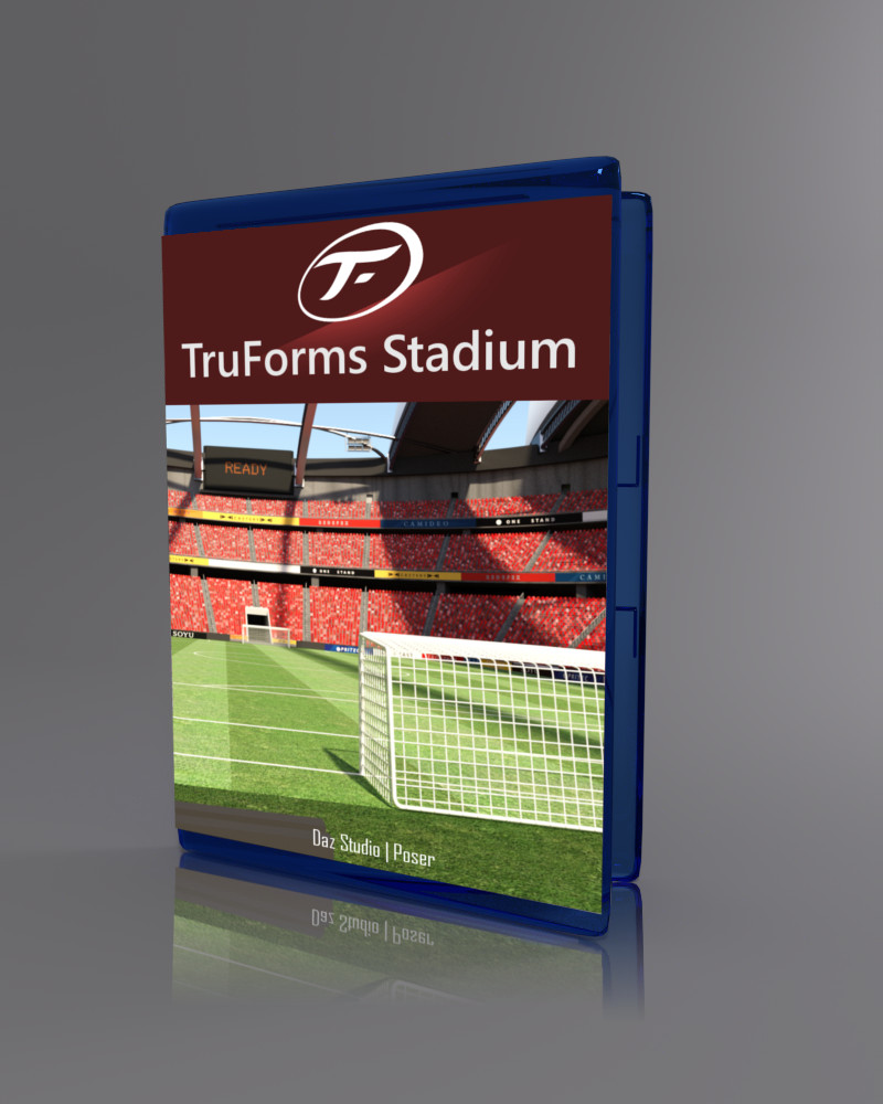 TruForms Stadium_DAZ3D下载站