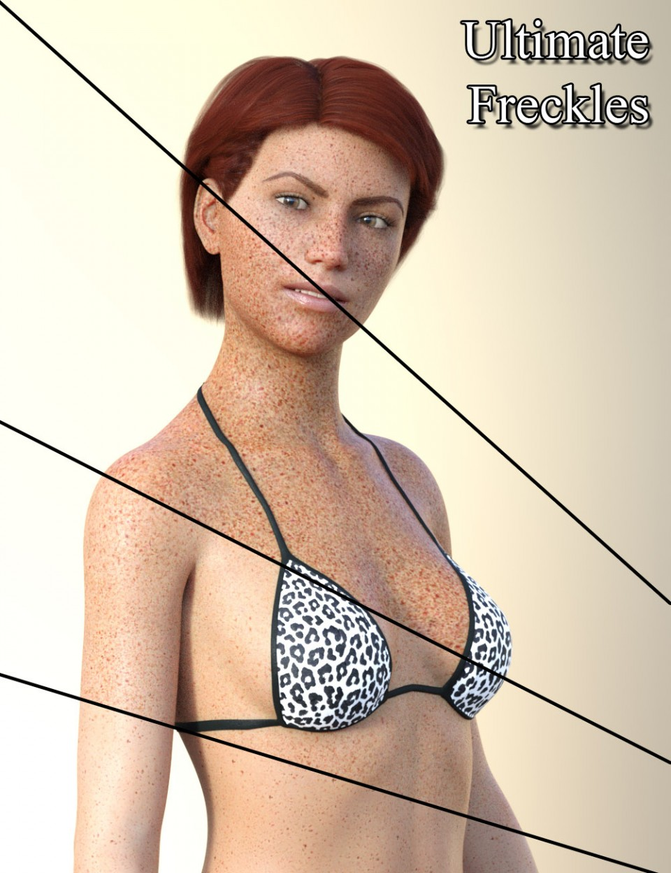 Ultimate Freckles for Genesis 8 and 3 Females and Males_DAZ3D下载站