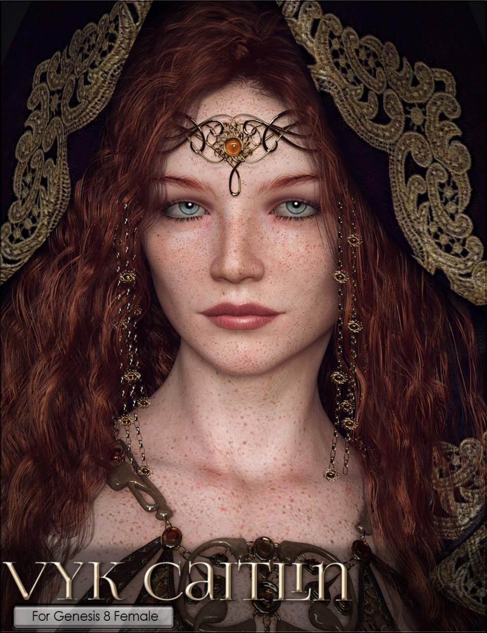 VYK Caitlin for Genesis 8 Female_DAZ3D下载站