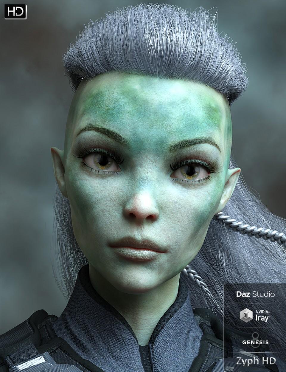 Zyph HD for Genesis 8 Female_DAZ3D下载站