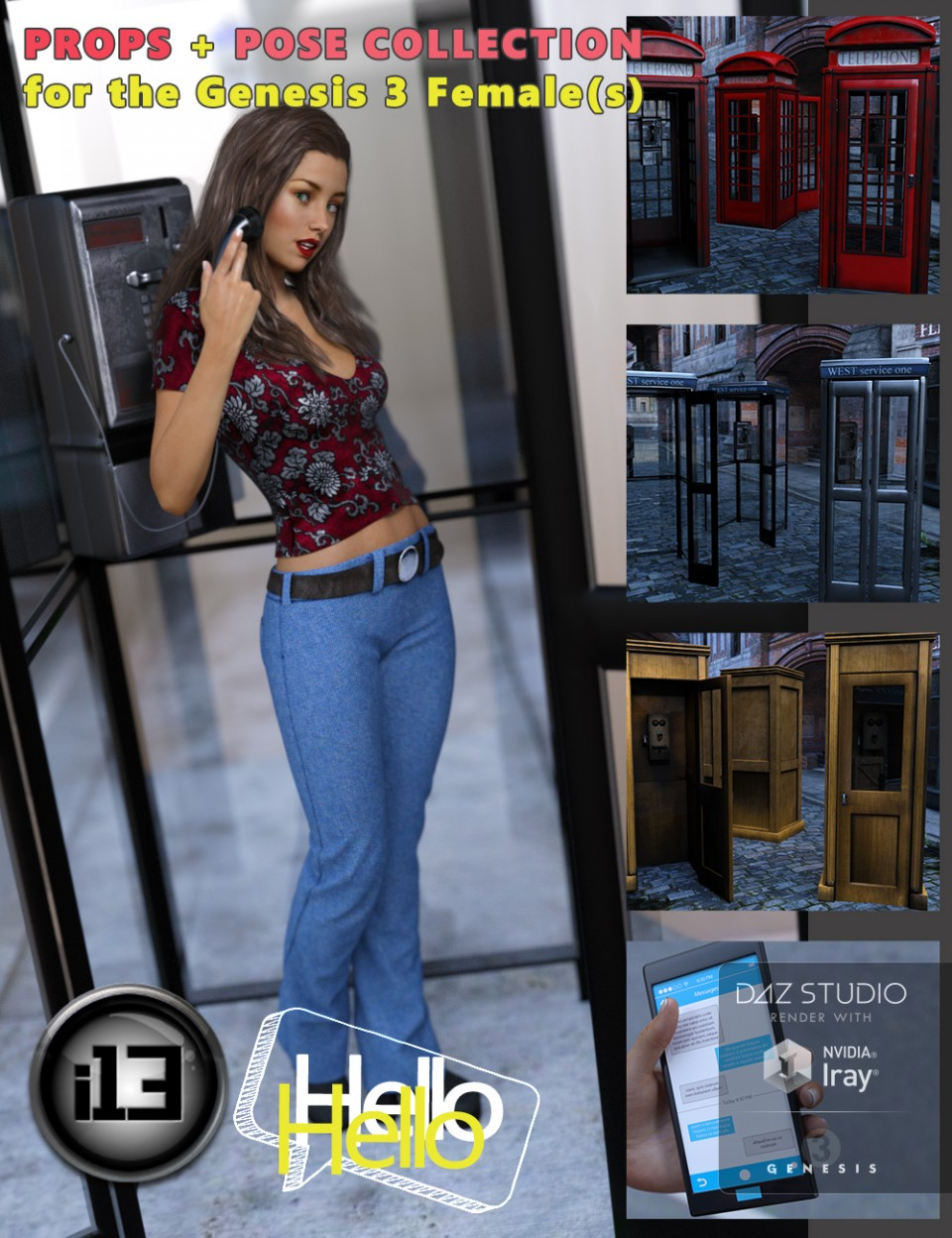 i13 Hello_DAZ3D下载站