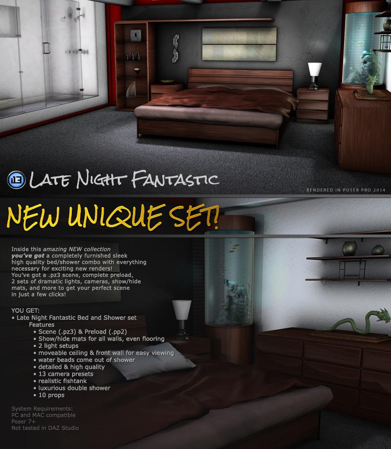 i13 Late Night FANTASTIC_DAZ3D下载站