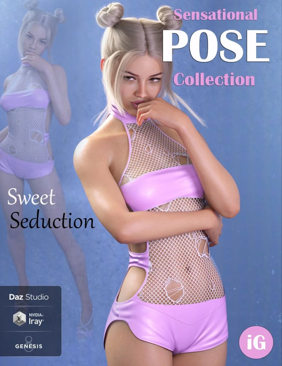 iG Sweet Seduction Poses for Genesis 8 Female(s)