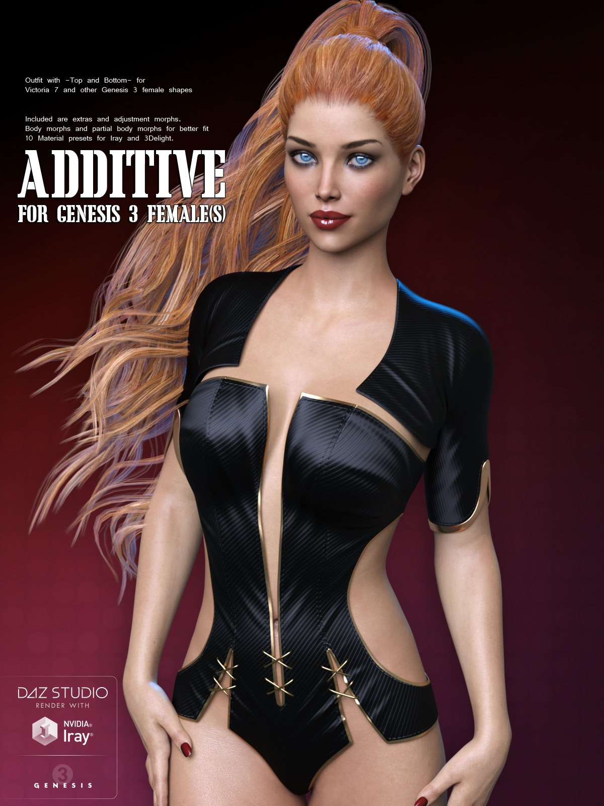 Additive for Genesis 3 Female(s)_DAZ3D下载站