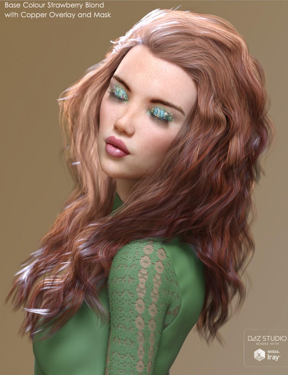 Alchemy for Backlight Hair Shaders for Iray_DAZ3D下载站