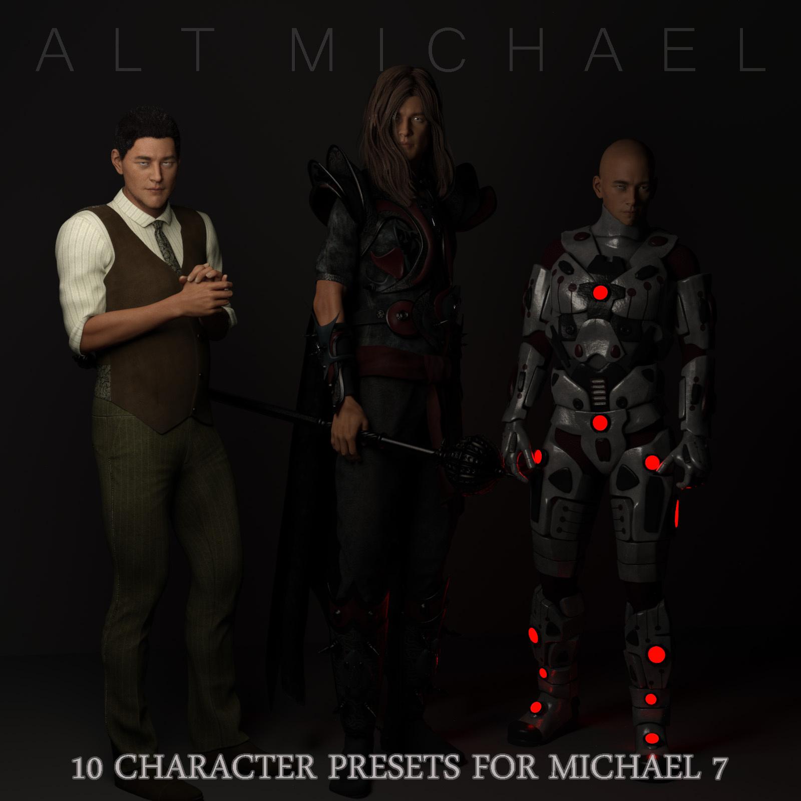Alt Michael_DAZ3D下载站