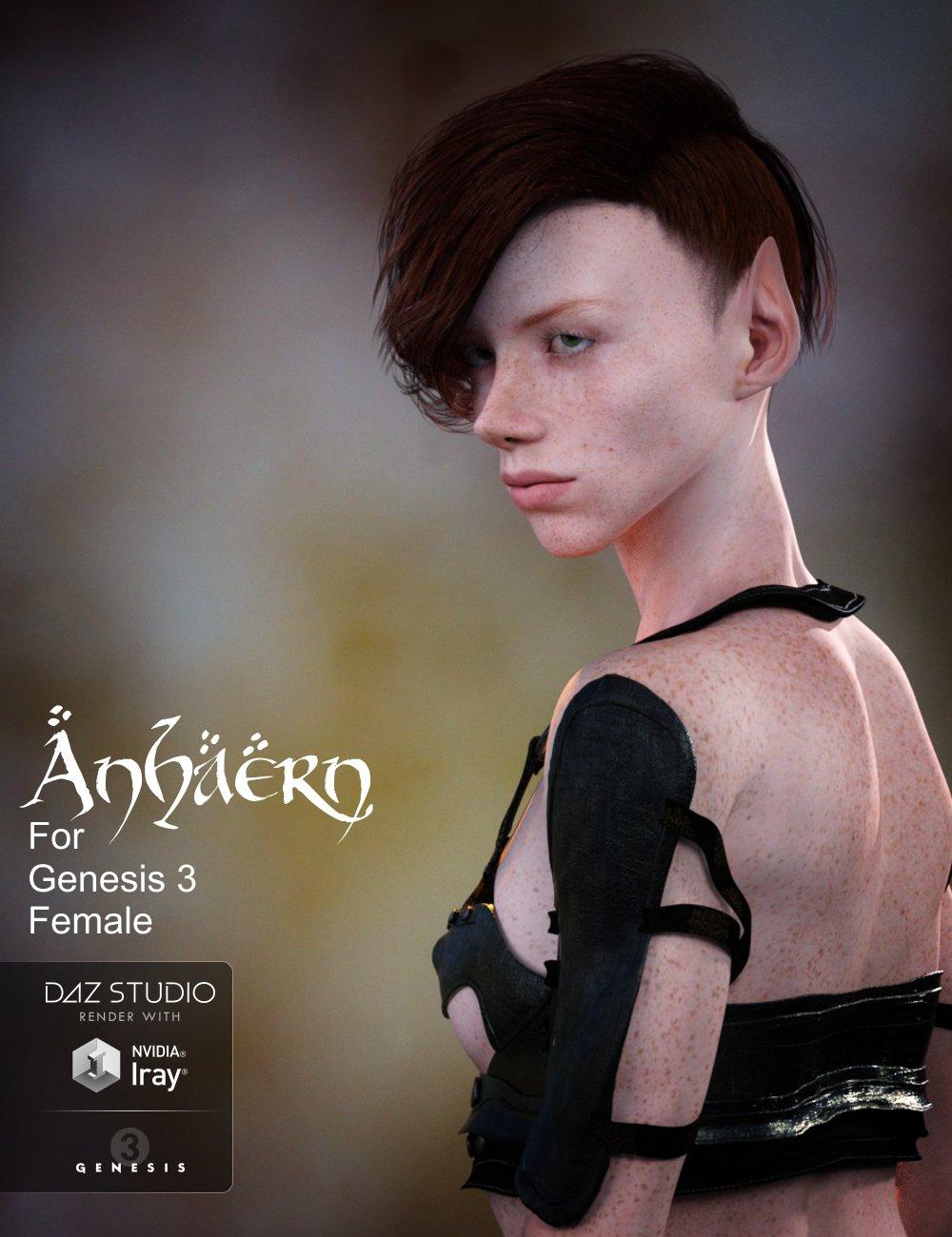 Anhaern for G3F_DAZ3D下载站