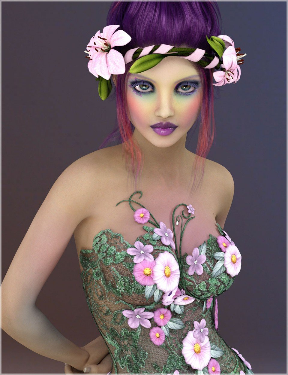BD Aether for Mika 7_DAZ3D下载站