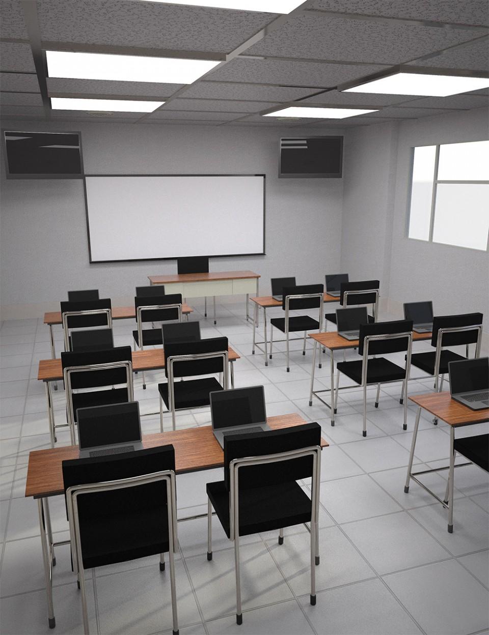 Business Classroom_DAZ3D下载站
