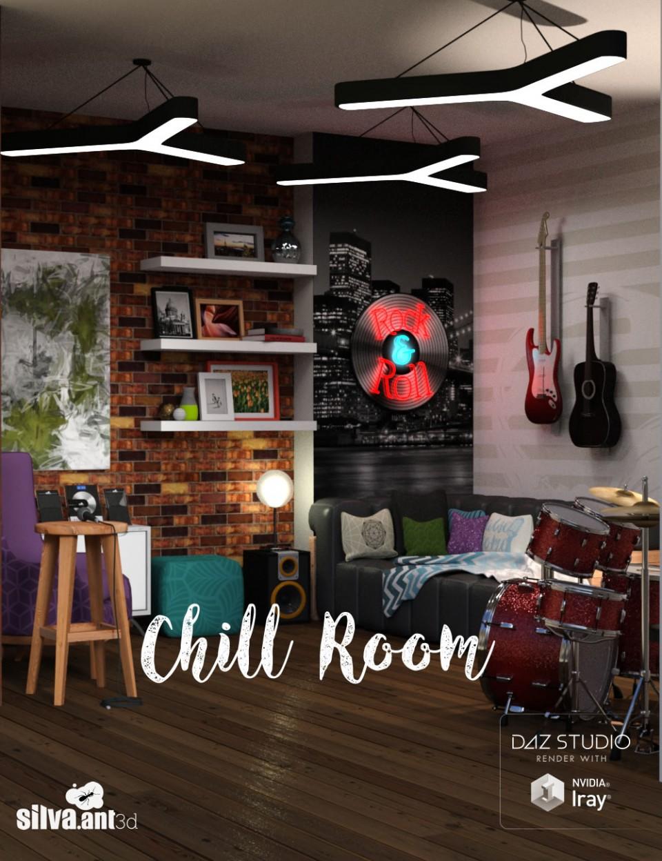Chill Room_DAZ3D下载站