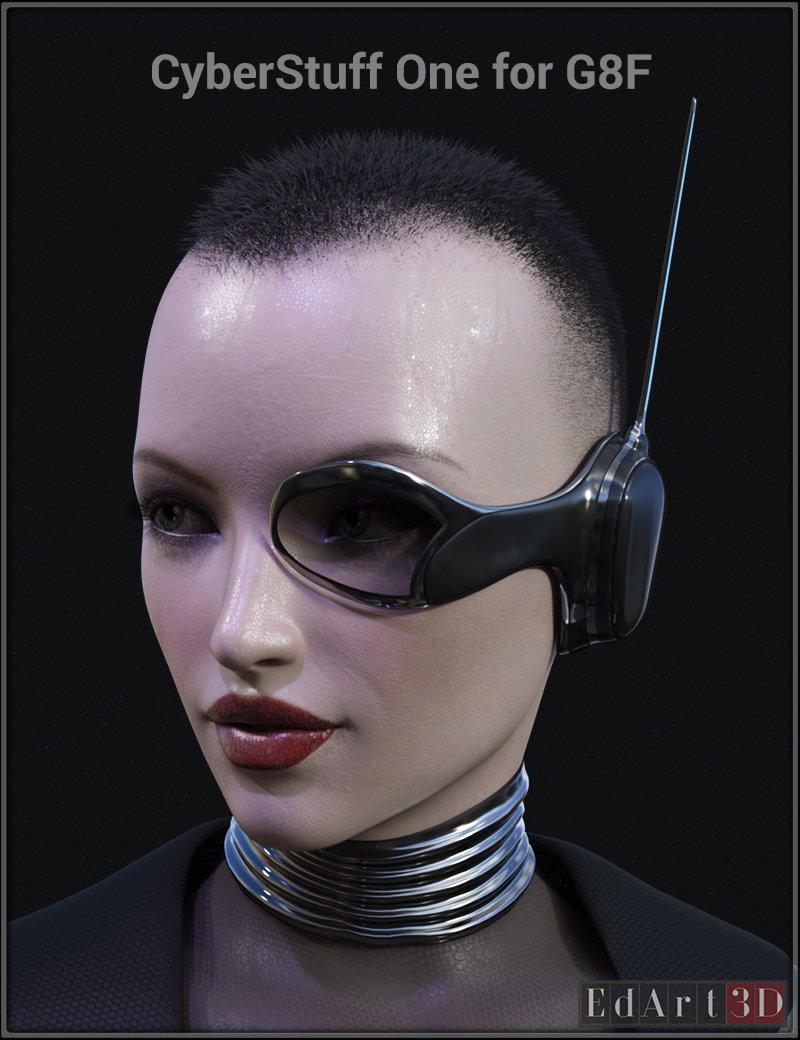 CyberStuff One for G8F_DAZ3D下载站