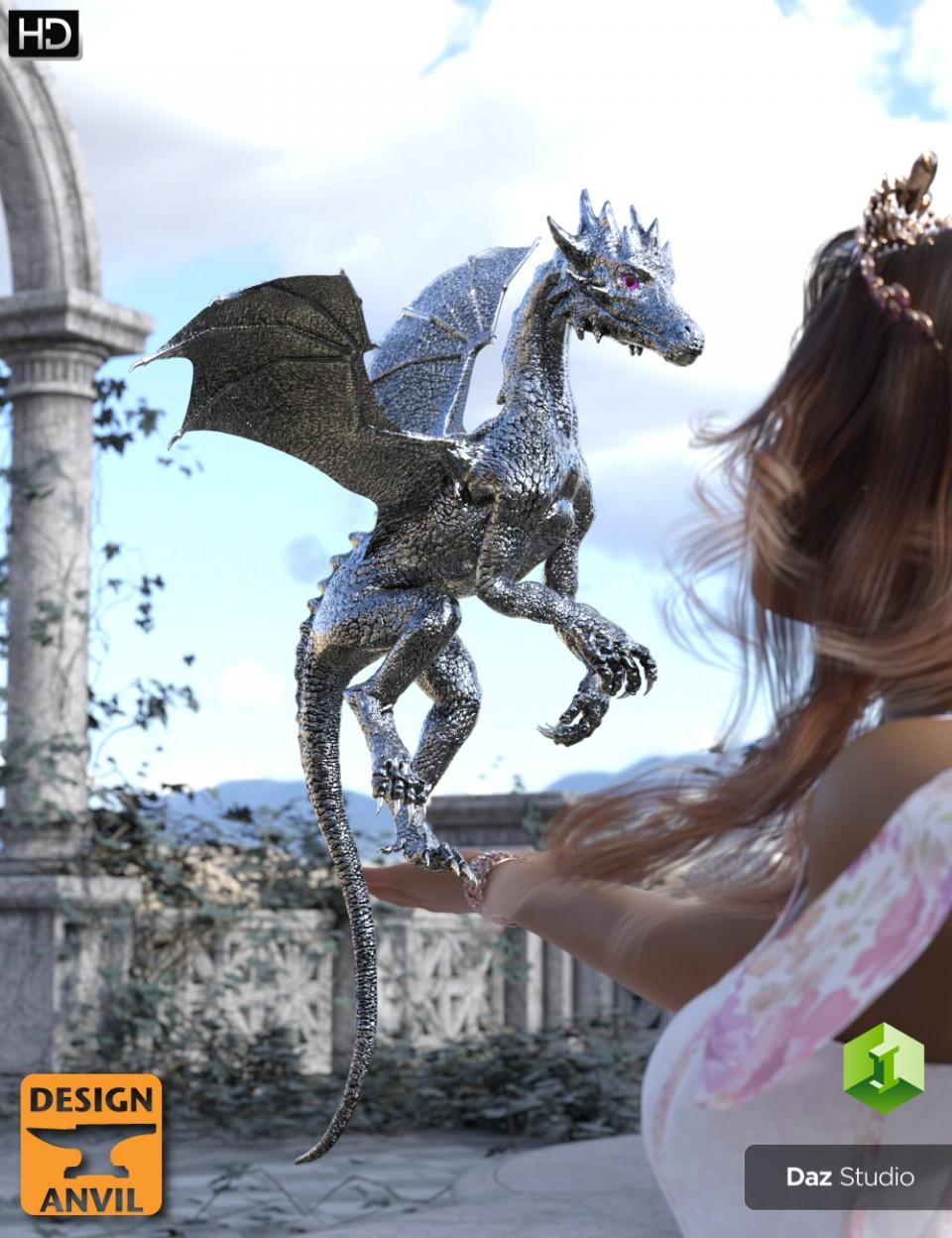 DA Dragonling HD for Daz Dragon 3_DAZ3D下载站