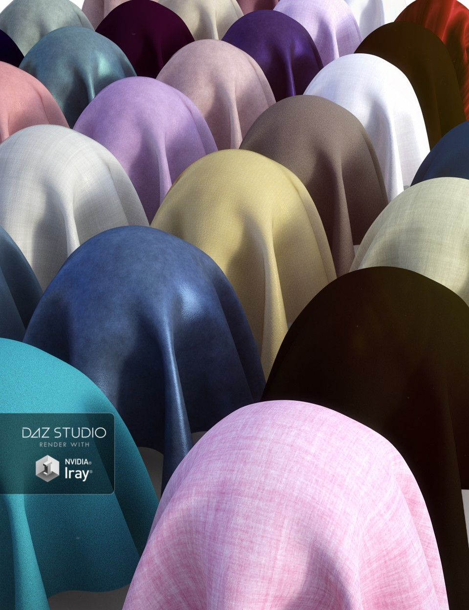 Everyday Cloth Iray Shaders_DAZ3D下载站