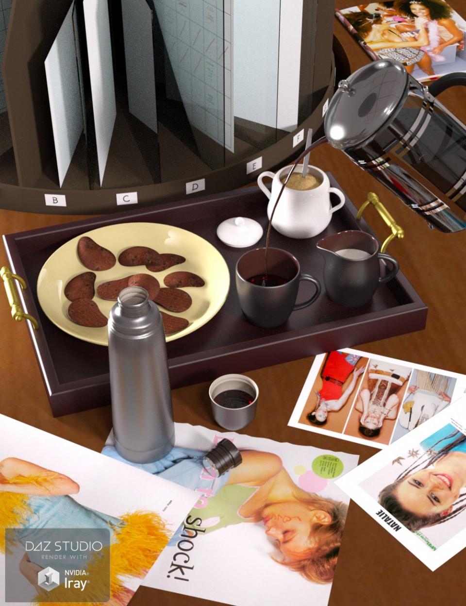 Everyday Coffee_DAZ3D下载站