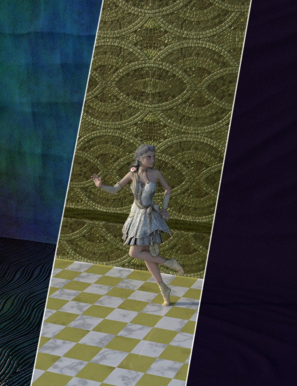 FSL Morphing Backdrop and Shaders for Iray_DAZ3D下载站