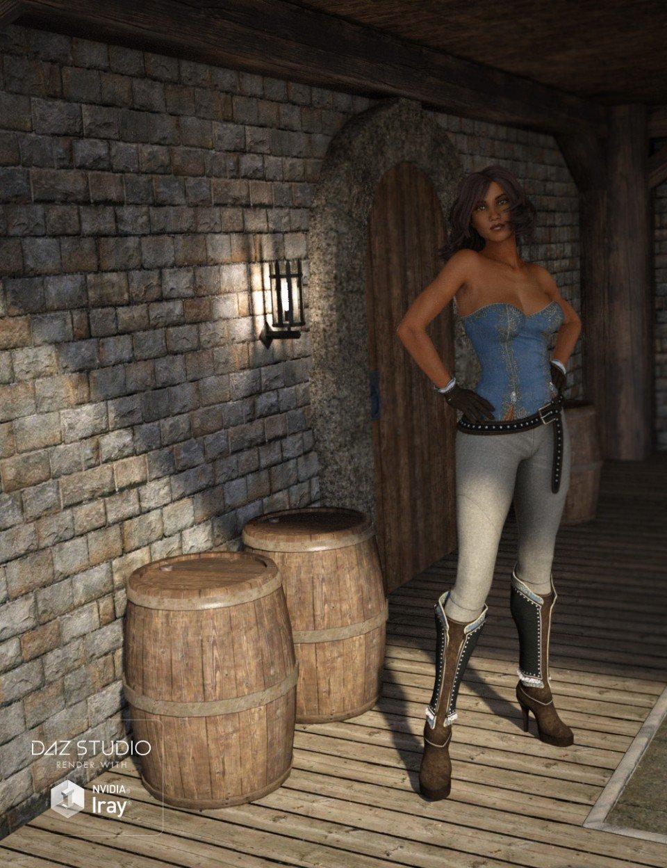 Fantasy Wine Cellar_DAZ3D下载站