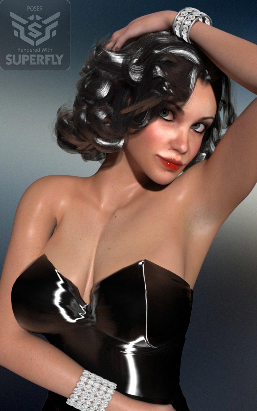 Foxy La Femme_DAZ3D下载站