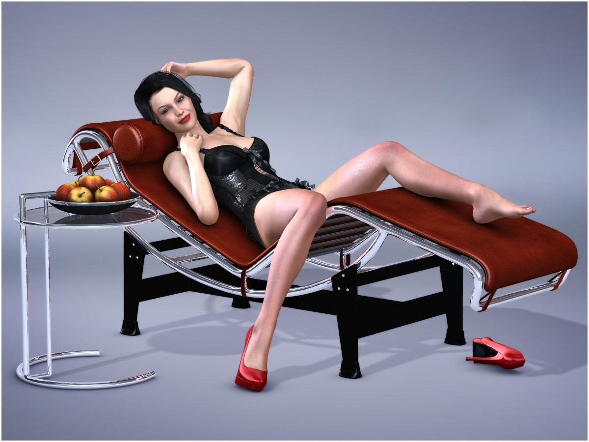 GCD Furniture Design LC4_DAZ3D下载站