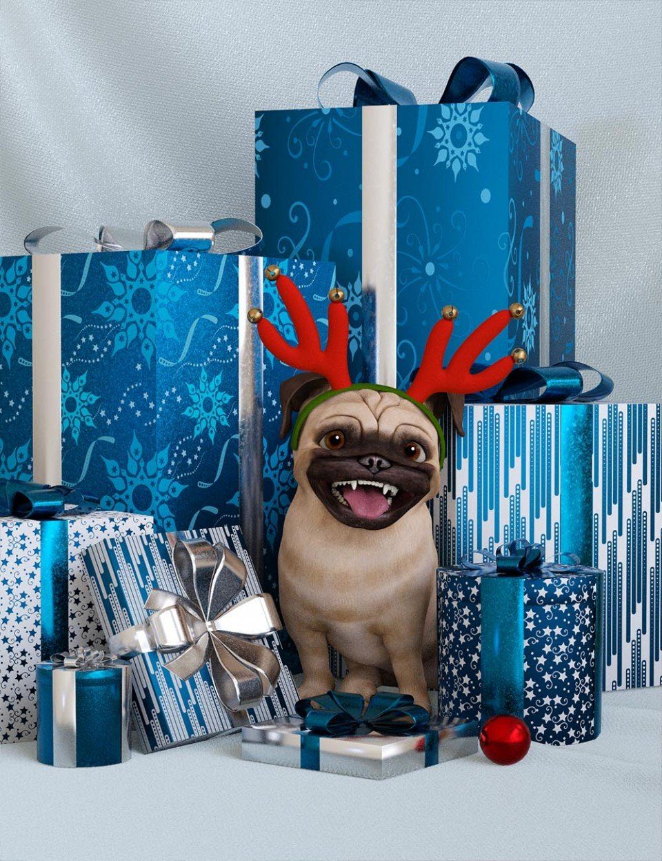 Holiday Wrapping Papers_DAZ3D下载站