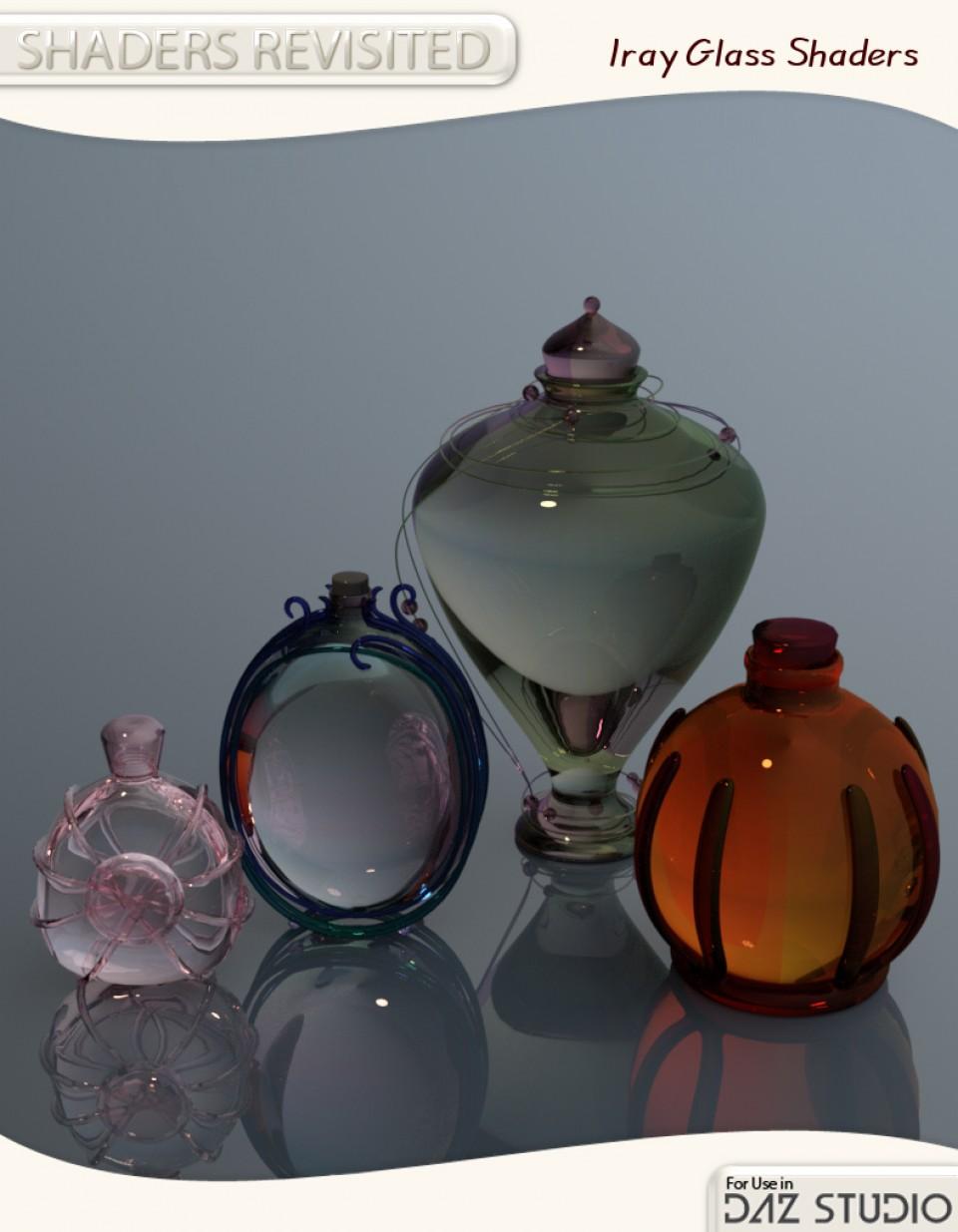 Iray Glass Shaders for DAZ Studio_DAZ3D下载站