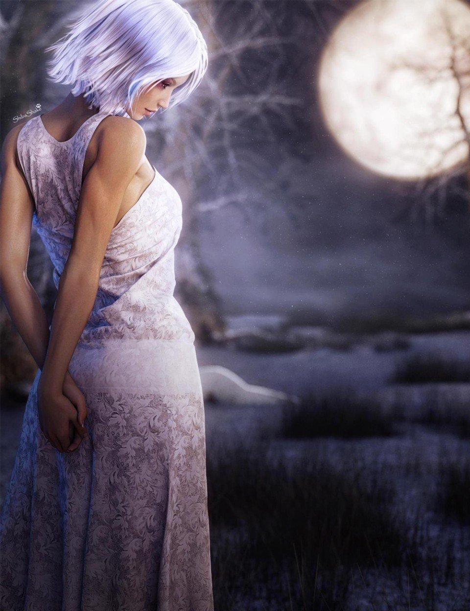 Isidora Dress for Genesis 3 Female(s)_DAZ3D下载站