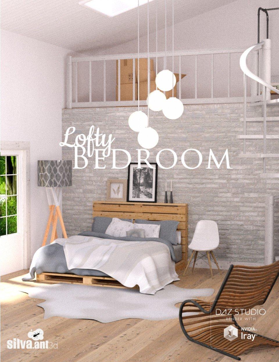 Lofty Bedroom_DAZ3D下载站