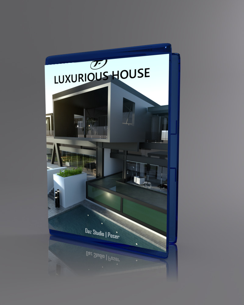 Luxurious House_DAZ3D下载站