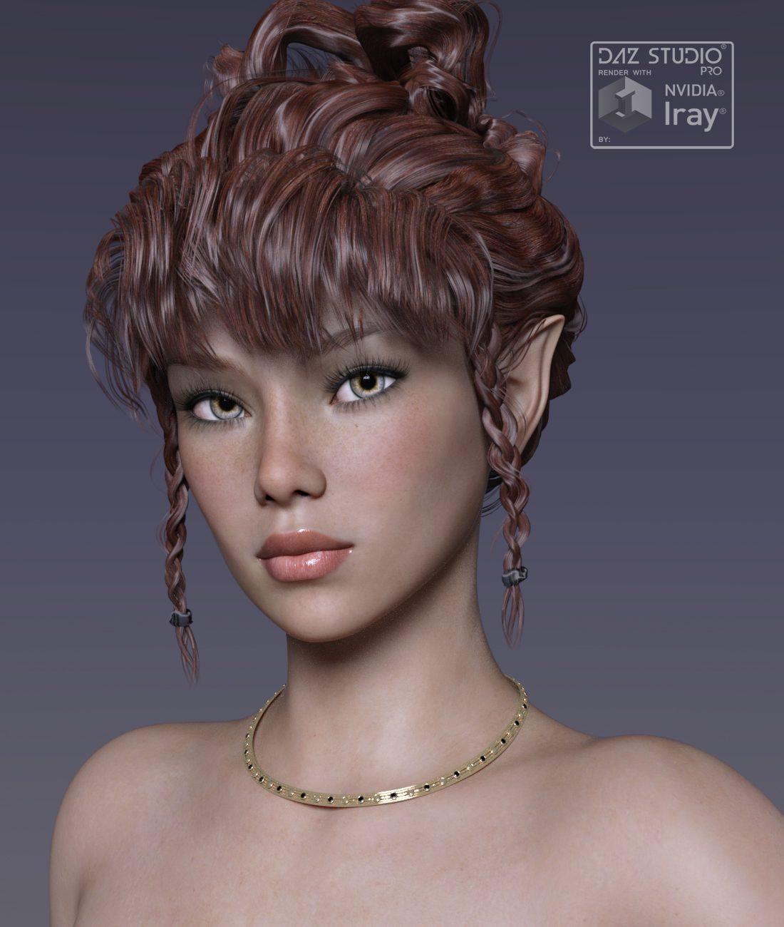 Mayra for G8F_DAZ3D下载站