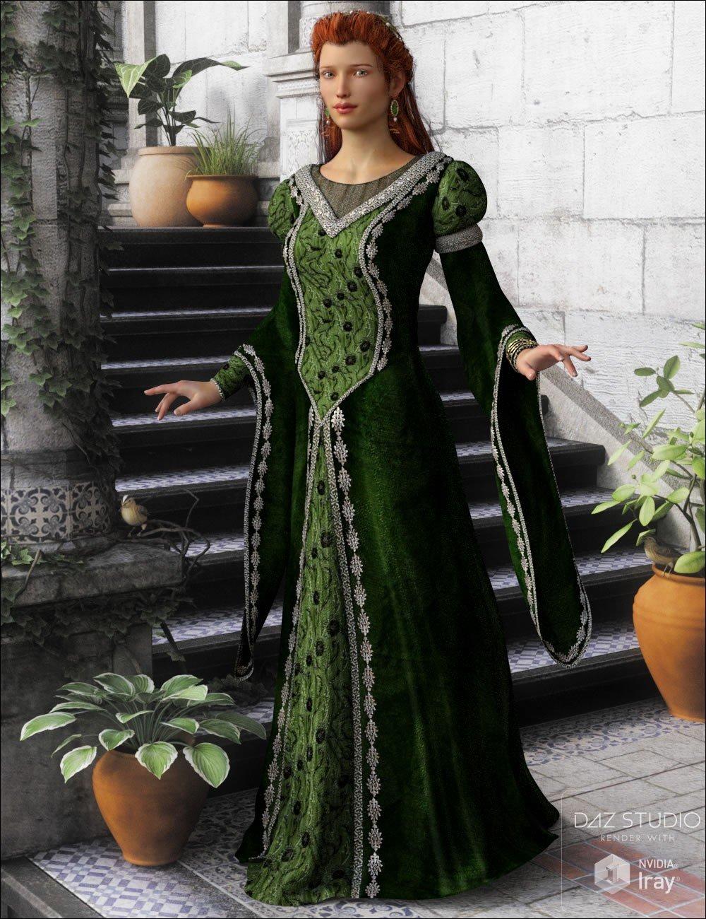 Medieval Royalty_DAZ3D下载站