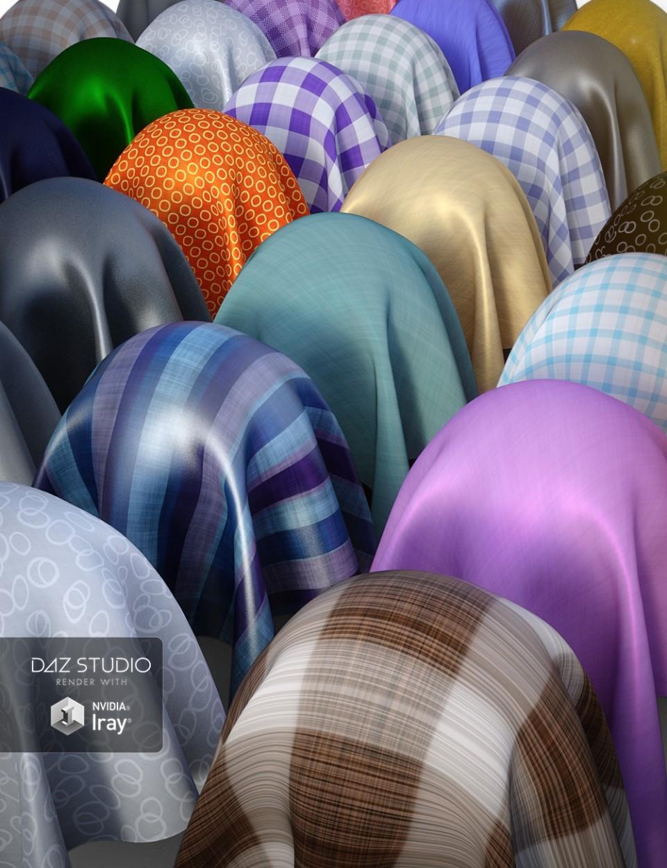 More Simple Fabric Iray Shaders_DAZ3D下载站