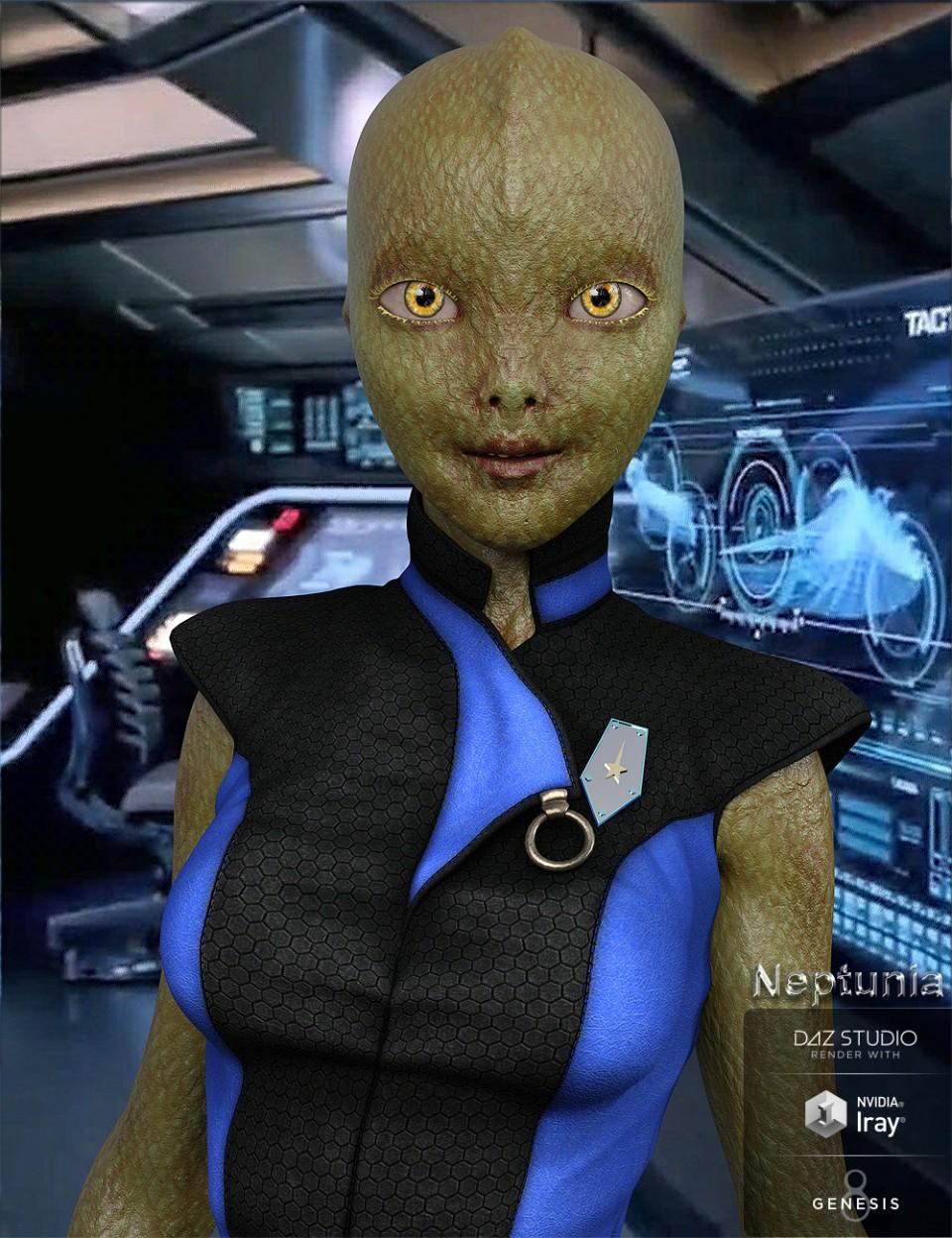 Neptunia for Genesis 8 Female_DAZ3D下载站