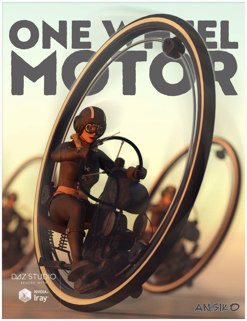 One Wheel Motor_DAZ3D下载站