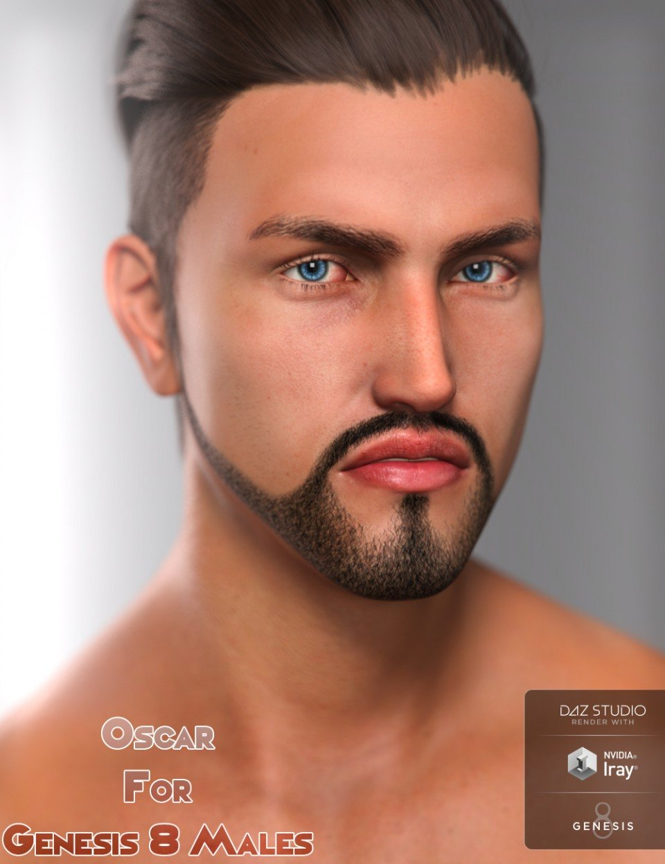 Oscar For Genesis 8 Male(s)_DAZ3D下载站