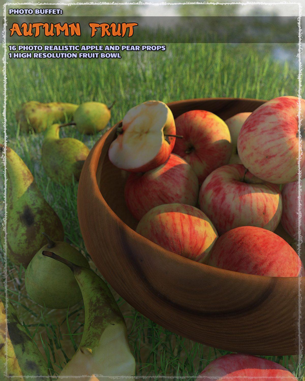 Photo Buffet: Autumn Fruit_DAZ3D下载站