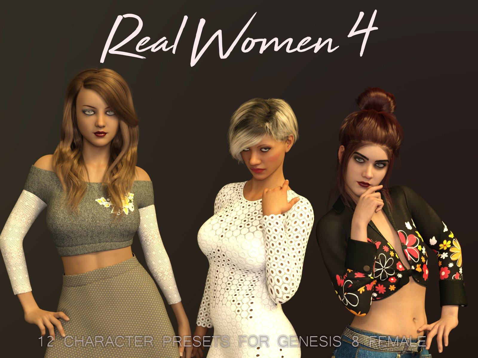 Real Women 4 for G8F_DAZ3D下载站