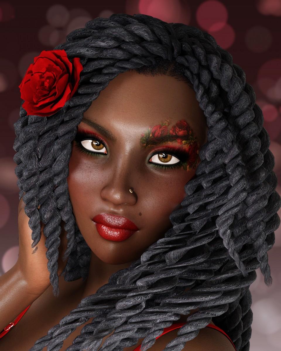 Rose for Genesis 3 Female_DAZ3D下载站