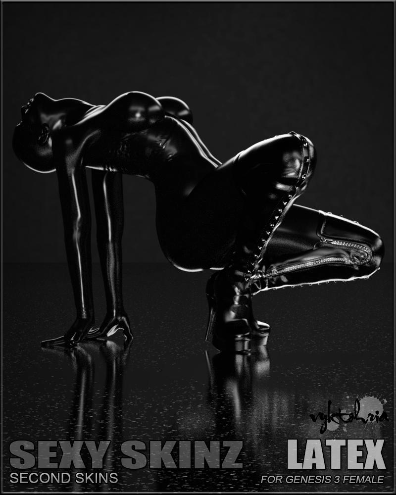 Sexy Skinz – Latex G3F_DAZ3D下载站