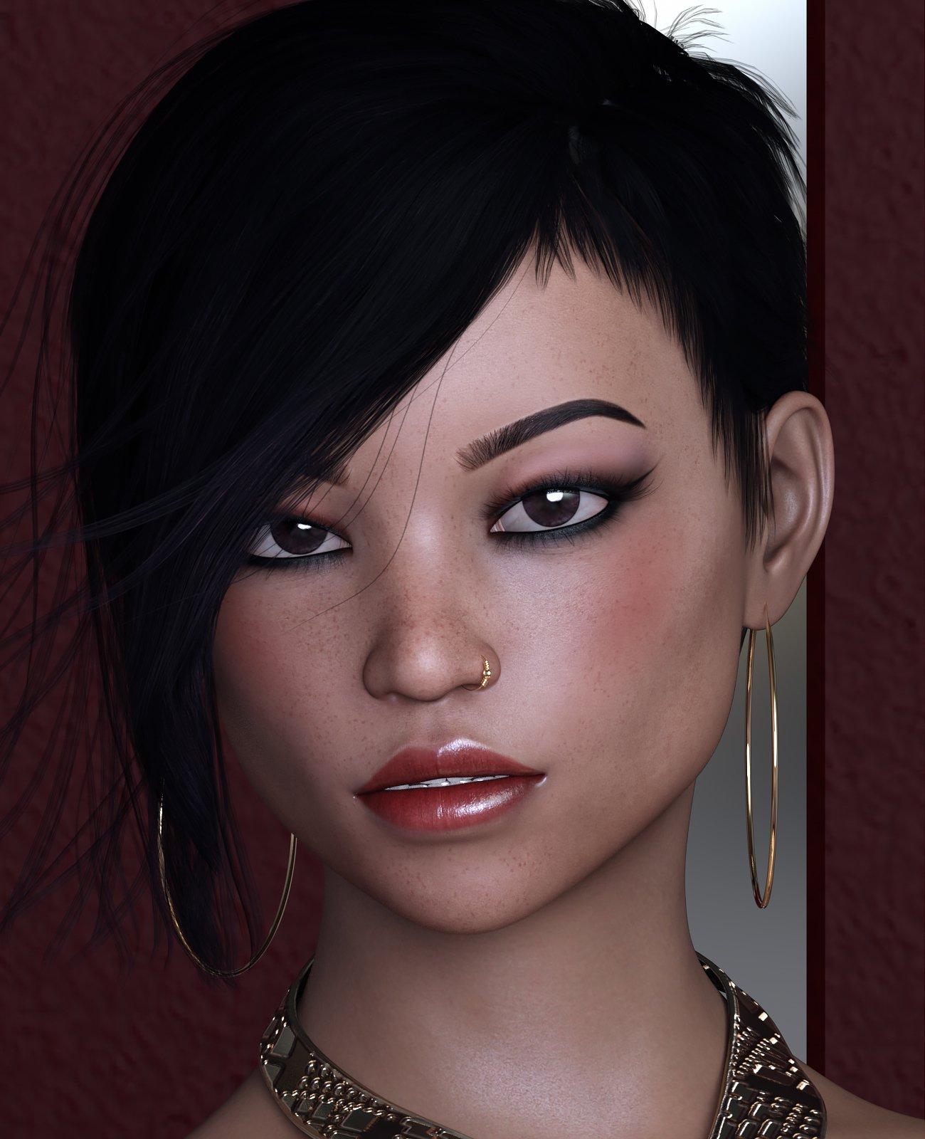 SublimelyVexed Kaelani Genesis 8 Female_DAZ3D下载站