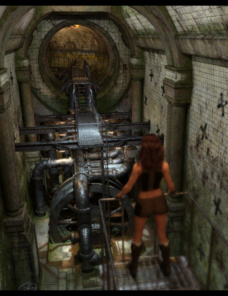 The Old Pumping Room_DAZ3D下载站