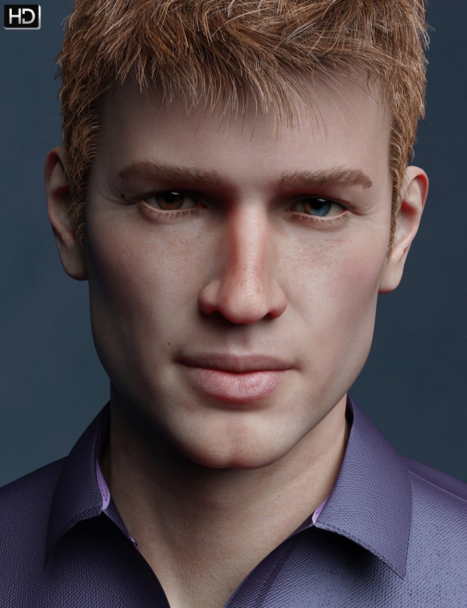 Theo HD for Michael 8_DAZ3D下载站