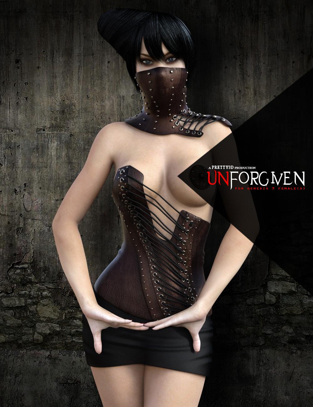 Unforgiven for Genesis 3 Female(s)_DAZ3D下载站