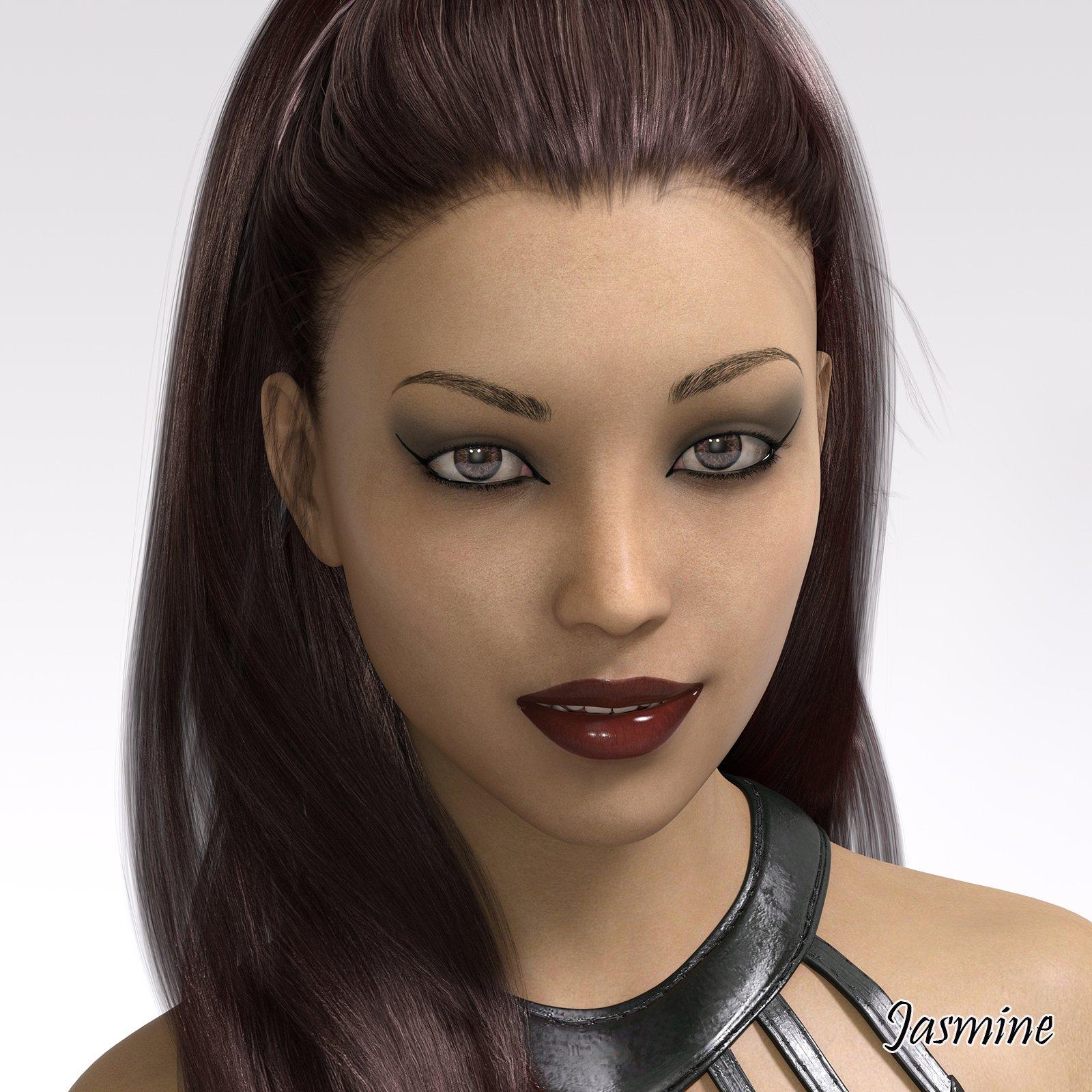 uc_art Jasmine G8F Character_DAZ3D下载站