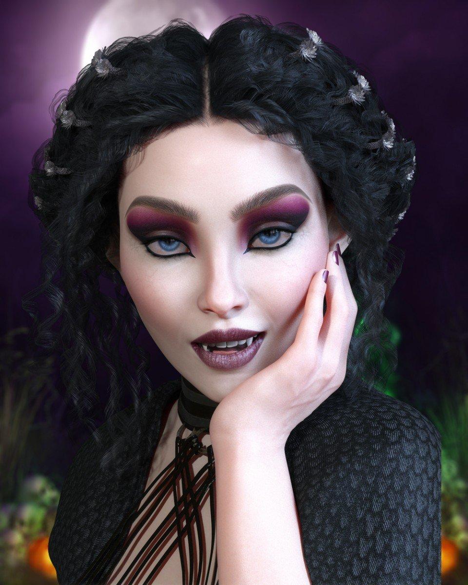Celeste for Teen Raven 8_DAZ3D下载站