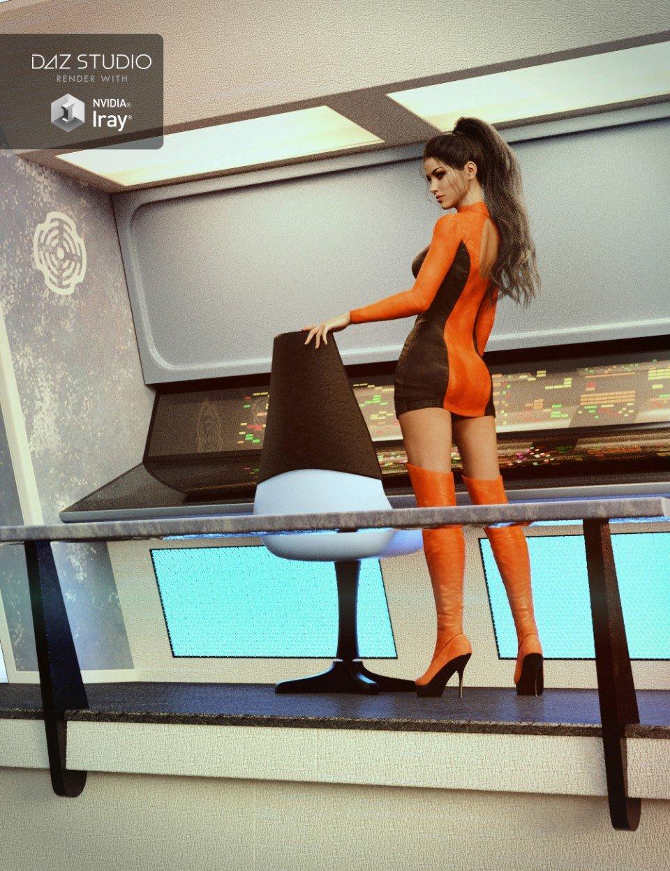 Collective3d Portrait Vignettes Sci-Fi 2_DAZ3D下载站