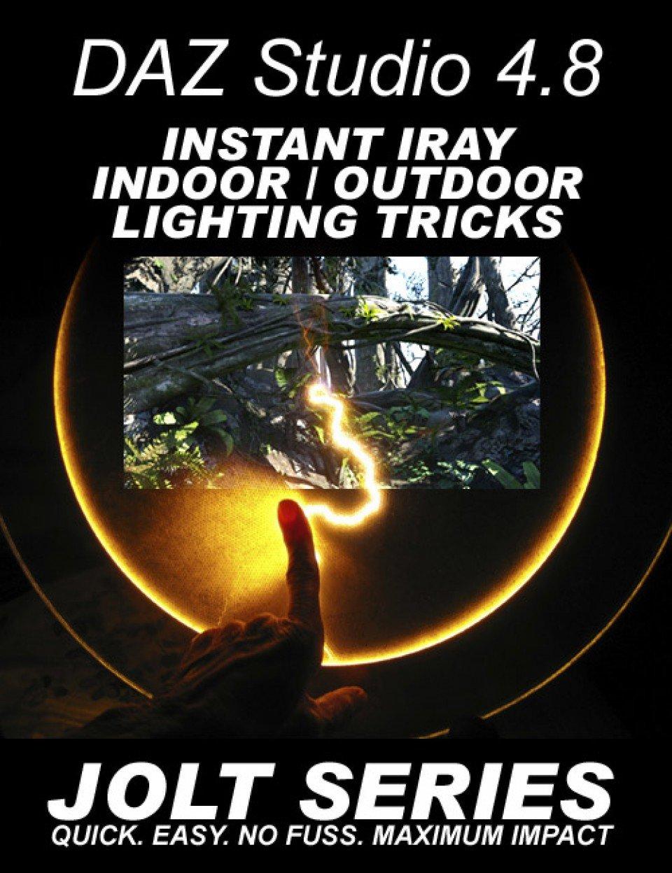 DAZ Studio Instant Iray Indoor & Outdoor Tricks – Jolt Series_DAZ3D下载站